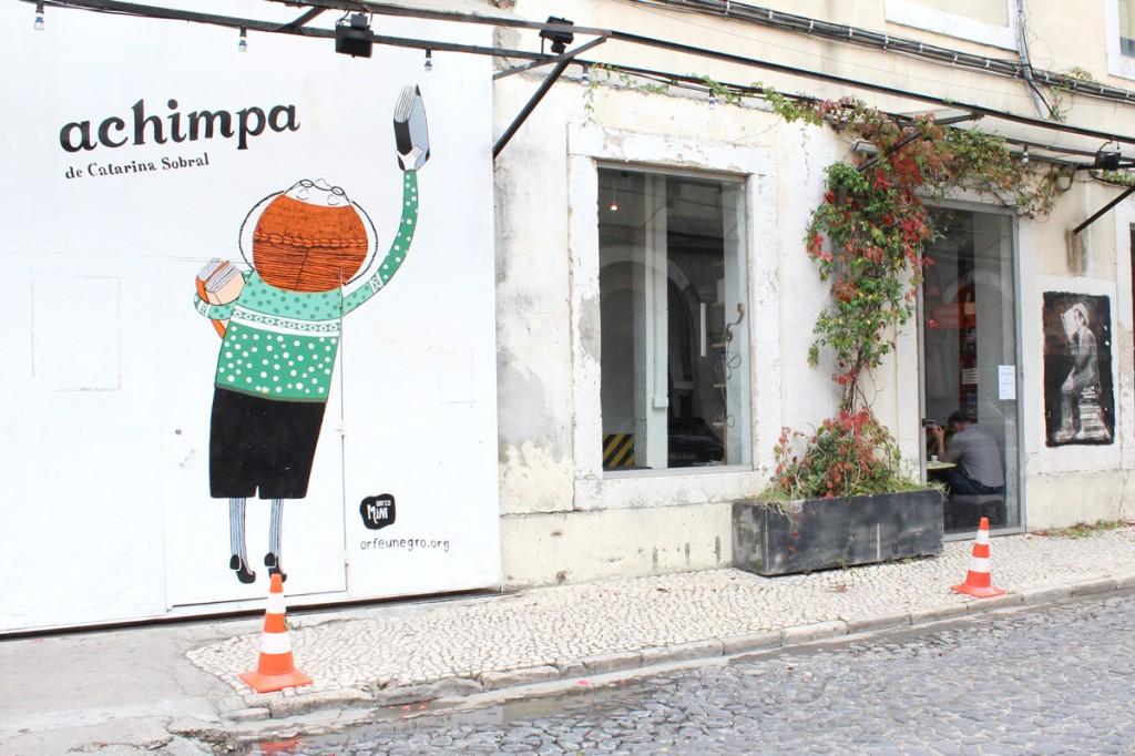 Librairie Achimpa Lisbonne