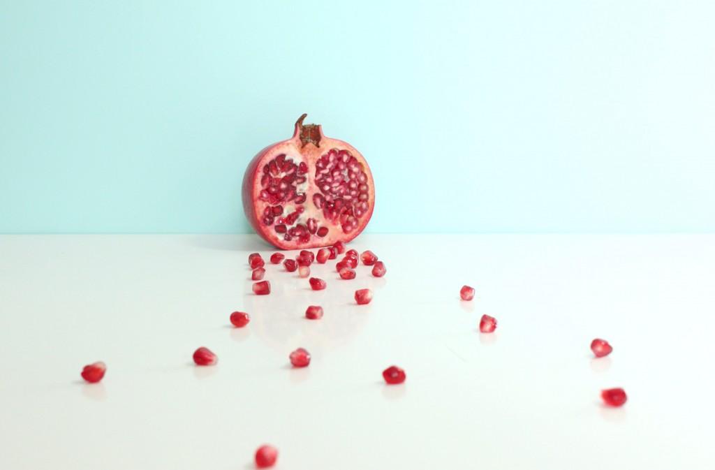 fruit de la passion, fruits exotiques, nature morte, mint