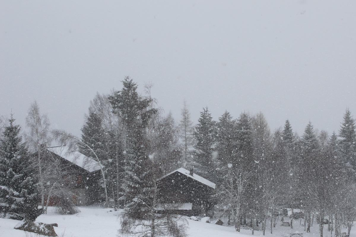 Il neige!