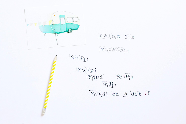 Carte Caravane; miss-etc