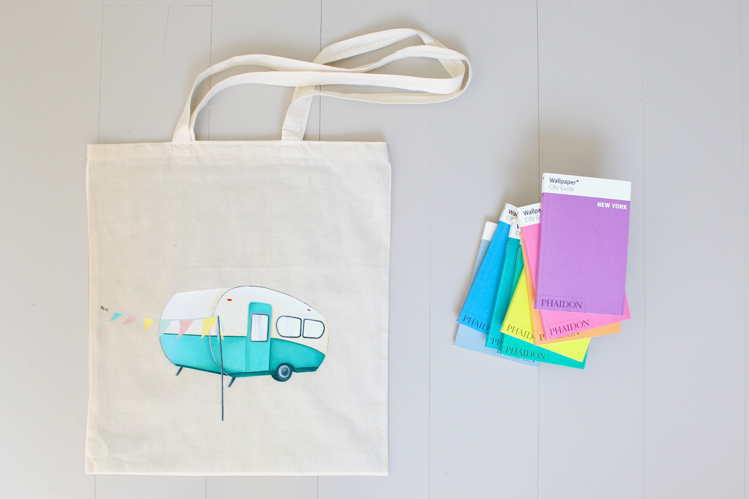 Tote bag caravane Miss-etc