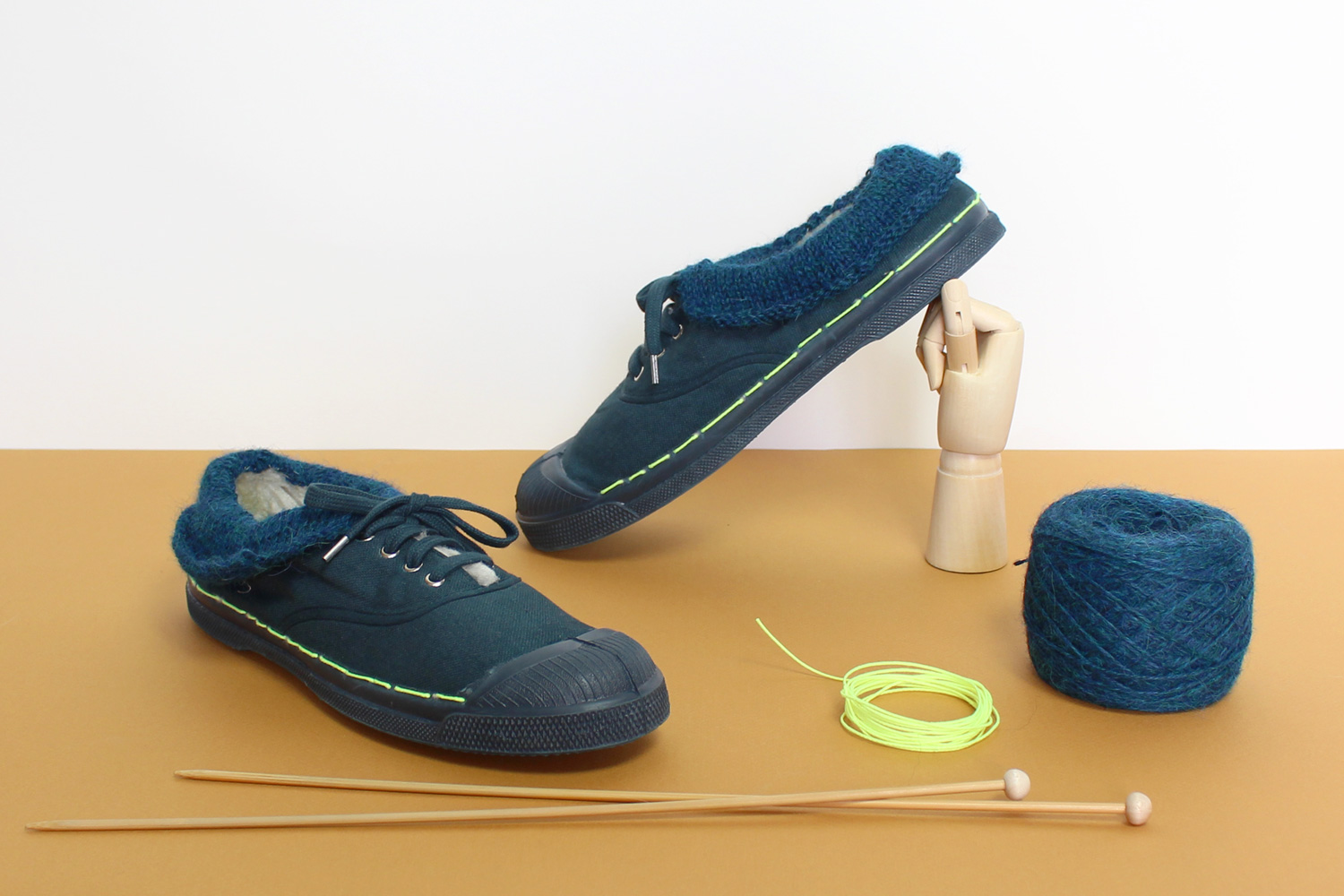 Diy tennis Bensimon