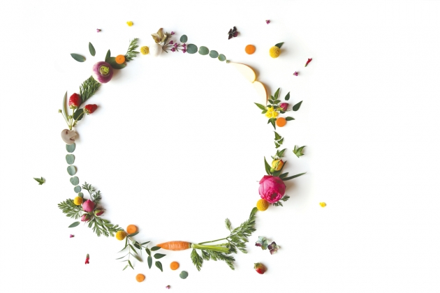 couronne fleurie departement du Val d'oise