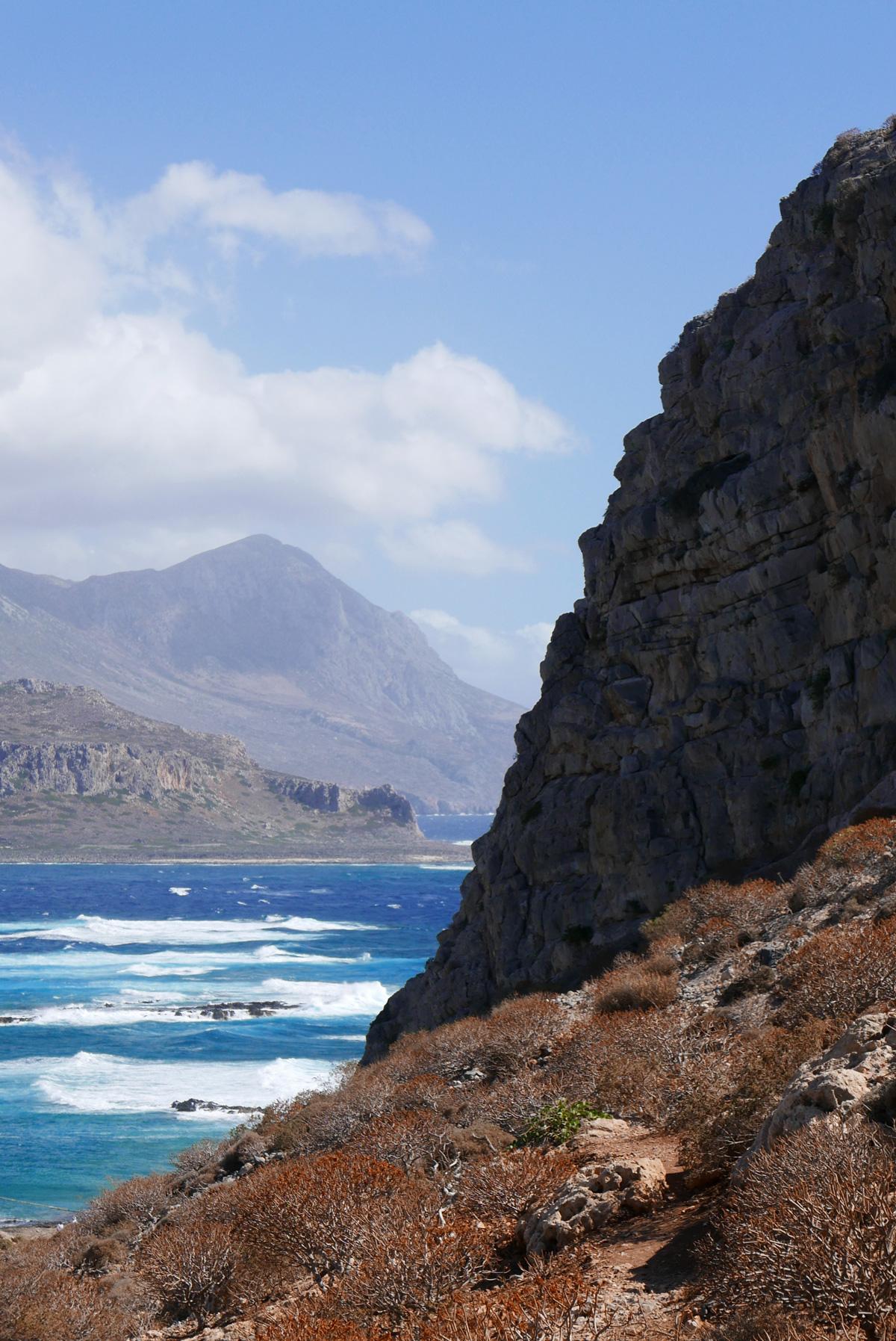 Falaise voyage en Crete de Miss-Etc