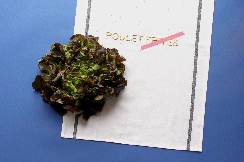 torchon salade La cerise sur le gateau portfolio miss etc