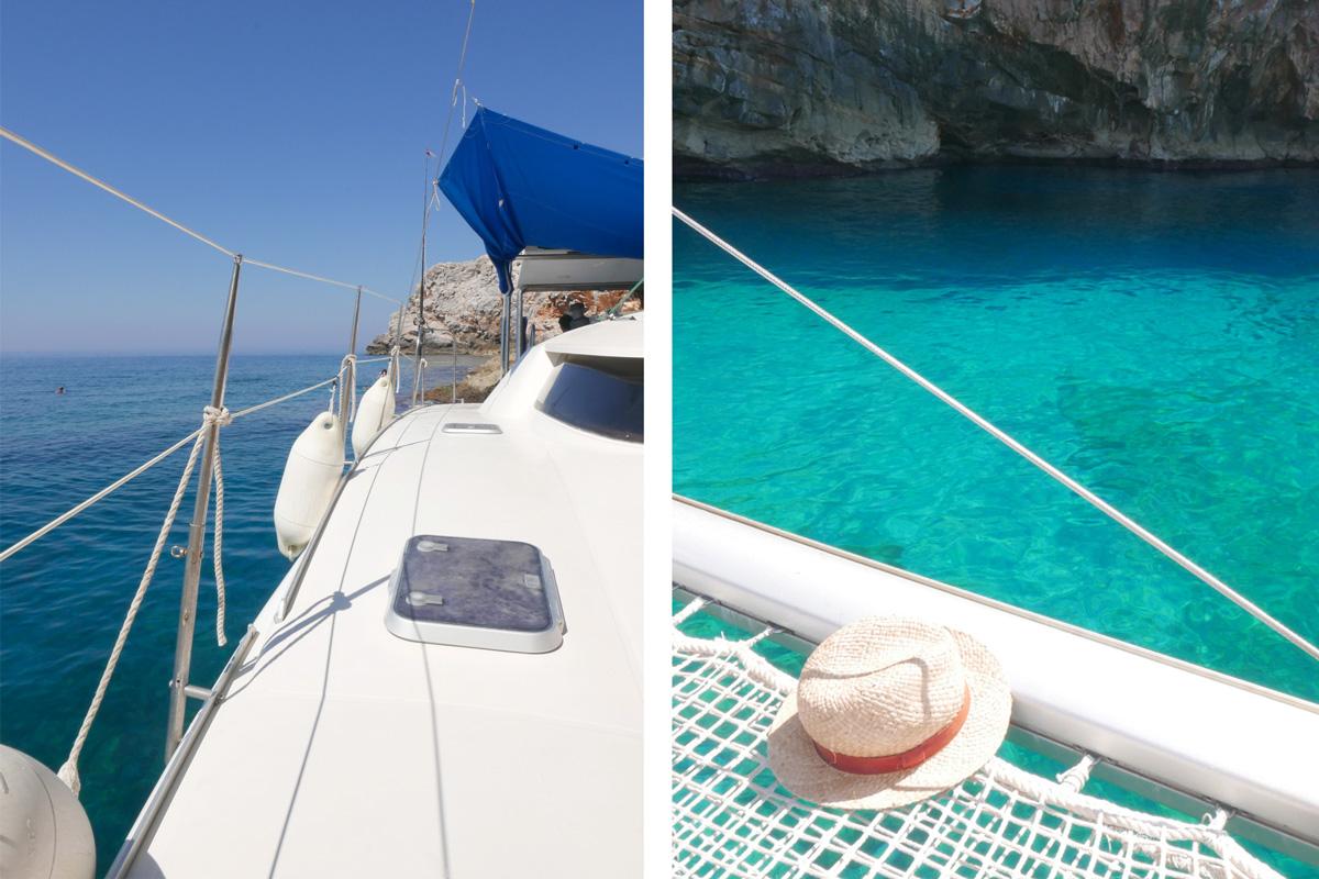 bateau et chapeau voyage en crete de miss-etc