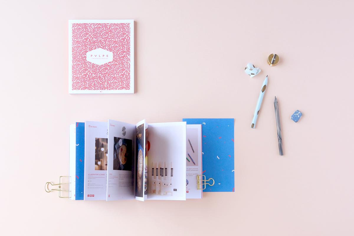 diy crayon à papier pulpe magazine